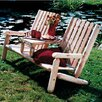 <strong>Rustic Natural Cedar Furniture</strong> Garden Tete-a-Tete