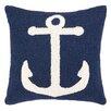 Peking Handicraft Nautical Hook Anchor Pillow