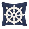 <strong>Nautical Hook Helm Pillow</strong> by Peking Handicraft