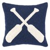 <strong>Peking Handicraft</strong> Nautical Hook Oars Pillow