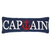 <strong>Nautical Hook Captain Anchor Pillow</strong> by Peking Handicraft