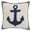 <strong>Peking Handicraft</strong> Nautical Hook Anchor Pillow