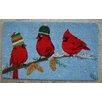 Peking Handicraft Birds with Cap Coir Mat