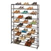 Richards Homewares 50 Pair Standing Shoe Rack