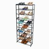 Richards Homewares 30 Pair Standing Shoe Rack