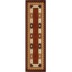 <strong>Anthology Durango Brown/Red Rug</strong> by Orian Rugs Inc.