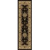 <strong>Orian Rugs Inc.</strong> Four Seasons Shazad Black Indoor/Outdoor Rug