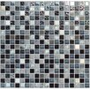 "Onix USA Crystone CS005 3/5"" x 3/5"" Stone and Glass Frosted Mosaic in Multicolor"