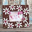Glory Haus Chocolate Daisy Picture Frame