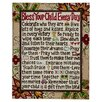 Glory Haus Bless Your Child Textual Art on Canvas