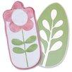 Boppy Heirloom 2 Piece Flower/Leaf Changing Pad Liner