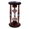 <strong>River City Clocks</strong> 15 Minute Sand Timer Hourglass