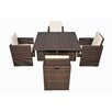 <strong>BOGA Furniture</strong> Boston Cube 5 Piece Dining Set