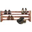 Cedar Green Cedar 2 Tier Shoe Rack
