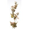 Distinctive Designs DIY Flower Artificial Antique Peach Downy Phlox Spike (Set of 12)
