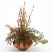 <strong>Distinctive Designs</strong> Merry Christmas Sequined Twigs Cedar in Vase
