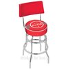 "Holland Bar Stool Coca-Cola 25"" Swivel Bar Stool with Cushion"