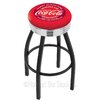 "Holland Bar Stool Coca-Cola 30"" Swivel Bar Stool with Cushion"