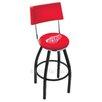 "Holland Bar Stool NHL 25"" Swivel Bar Stool with Cushion"