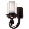 <strong>Newport 1 Light Wall Sconce with Glass Shade</strong> by Kalco