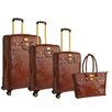 <strong>Adrienne Vittadini</strong> 4 Piece Luggage Set