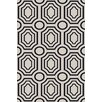 Angelo:Home Hudson Park Ivory/Navy Geometric Area Rug