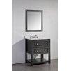 """Legion Furniture 31"""" Solid Wood Bathroom Vanity Set"""