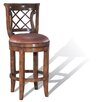 "Legion Furniture Windsor 24"" Swivel Bar Stool with Cushion"