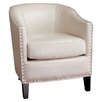 Home Loft Concept Starks Faux Leather Club Chair