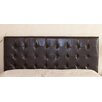 Home Loft Concept Preakness Queen/Full Button Tufted Leather Headboard