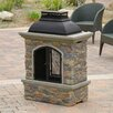 <strong>Home Loft Concept</strong> Fresno Outdoor Natural Stone Chiminea Fireplace