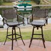 "Home Loft Concept Molino 46"" Bar Stool (Set of 2)"