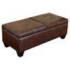 Home Loft Concept Salas Leather Storage Ottoman