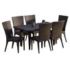 Home Loft Concept Edward 7 Piece Dining Set