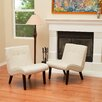 Home Loft Concept Belknap Slipper Chair (Set of 2)