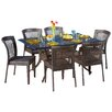 Home Loft Concept Rowan 7 Piece Outdoor Dining Set