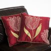 """Home Loft Concept Tranquil 18"""" Tulip Pillows (Set of 2) (Set of 2)"""