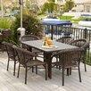 Home Loft Concept Norwich 7 Piece Outdoor Dining Set
