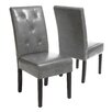 <strong>Home Loft Concept</strong> Victor 5-Tufted KD 2pk Dining Chair (Set of 2)