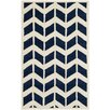 <strong>Brynn Dark Blue / Ivory Tufted Rug</strong> by Safavieh