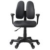 Duorest Smart Ergonomic Mid-Back Office Chair with Removable Armrests