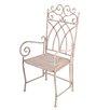 EsschertDesign Aged Metal Carver Chair