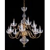 Crystorama Essex House 12 Light Candle Chandelier