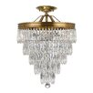 Crystorama Chloe 3 Light Crystal Chandelier