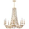 Crystorama Bella 8 Light Candle Chandelier