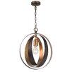 Crystorama Luna 1 Light Globe Pendant