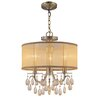 <strong>Hampton 3 Light Chandelier</strong> by Crystorama