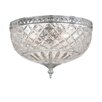<strong>Bohemian Crystal Flush Mount</strong> by Crystorama