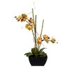Creative Branch Faux Orchids in Planter