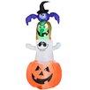 Gemmy Industries Halloween Character Stacker Decoration